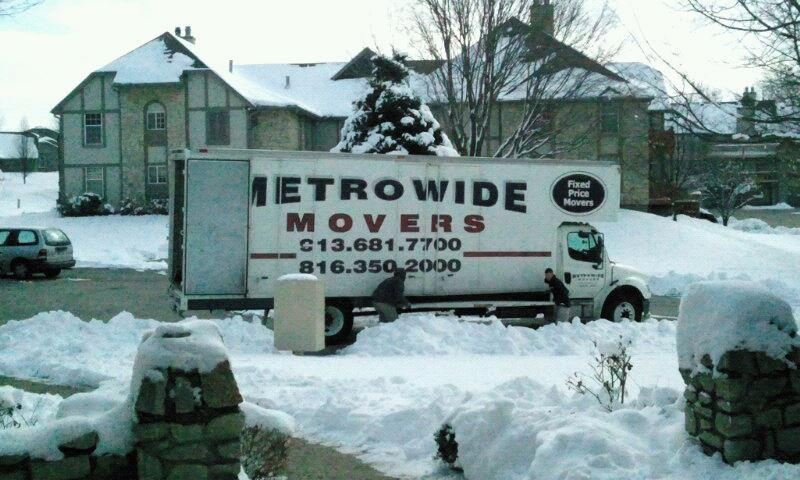 Metro Wide Movers Winter Move