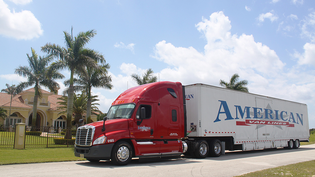 American Van Lines Long Distance Movers