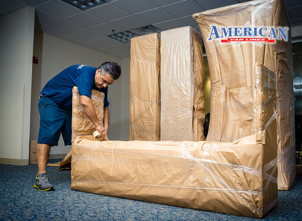 Wrapping Furniture for International Move