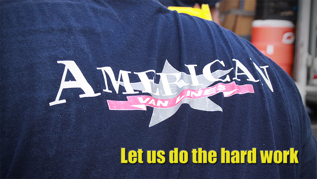 Let us do the hard work - American Van Lines Movers
