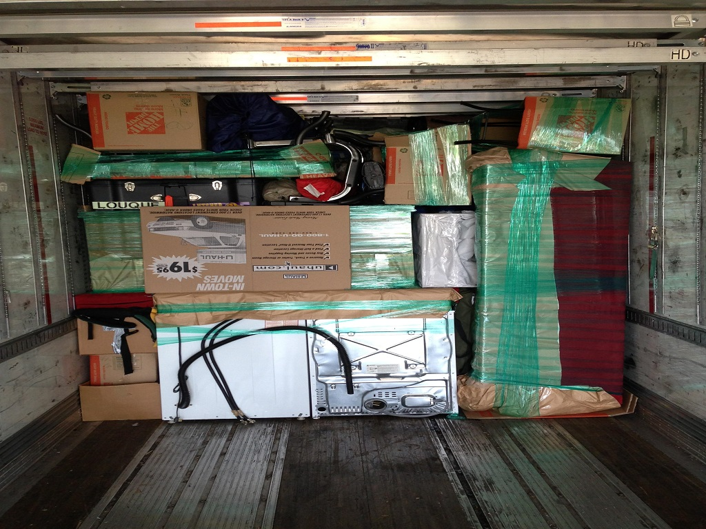 ABF, PODS, Uhauls, We know how to pack anything!
