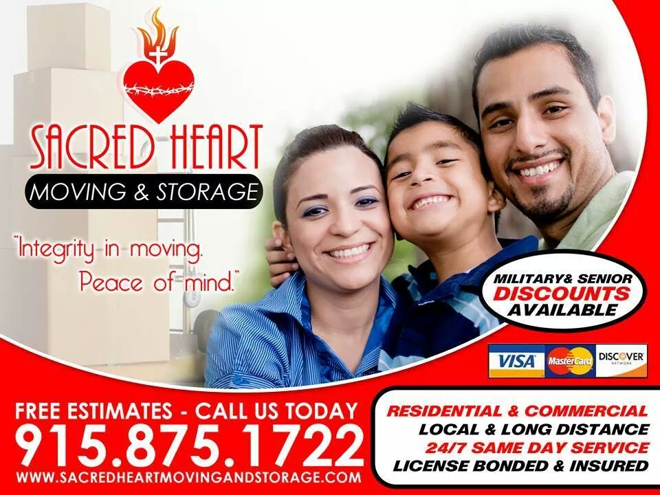 Sacred Heart Moving and Storage - Family Owned and Operated