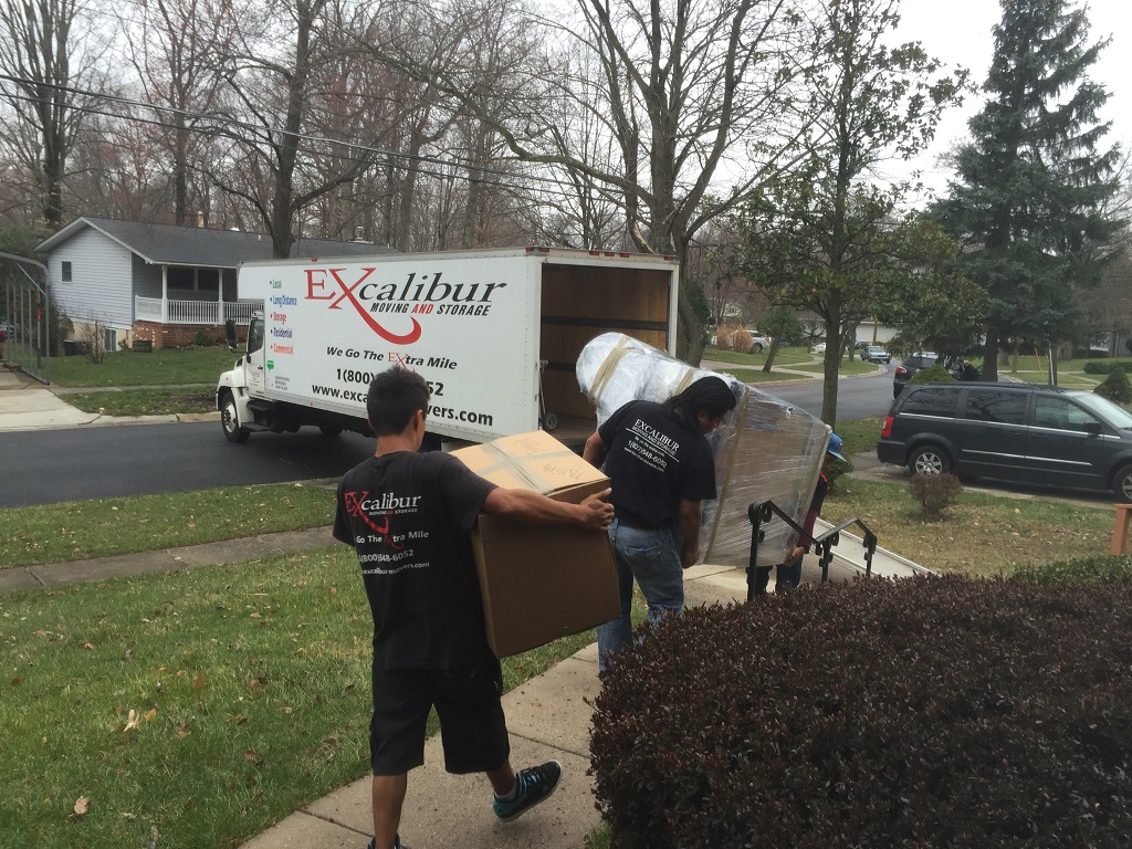 Excalibur Moving And Storage Rockville Md 20852