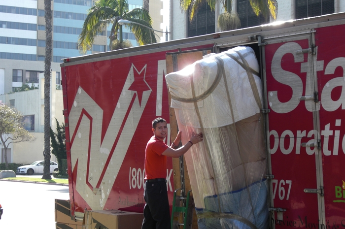 Moving a large item