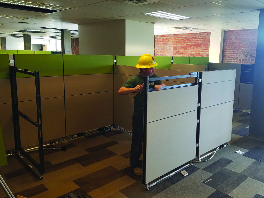 Office Furniture Install