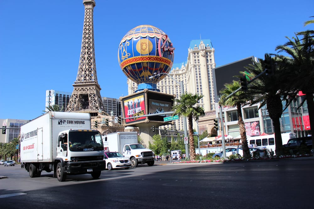 cube moving , delivery to Las Vegas