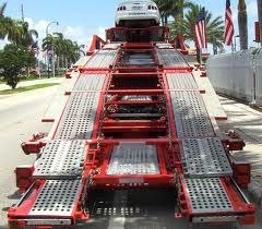 Auto Transport - Truck Ramp
