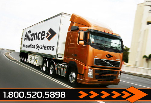 Alliance moving truck