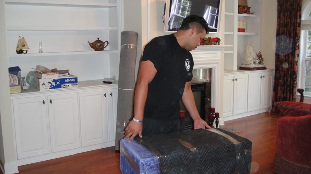 Moving the items