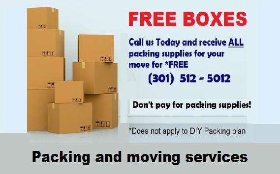Free packing supplies!