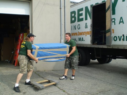 Bennys Moving and Storage