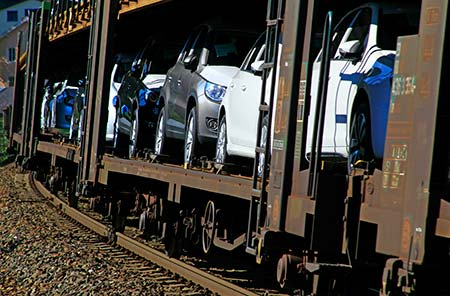 Shipping a car by train – How much does it cost?