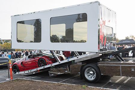 Enclosed Trailer Auto Transport