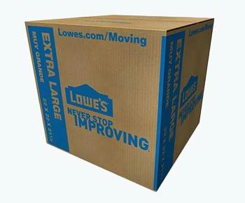 Lowe's moving boxes