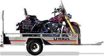 U-Haul Motorcycle Trailer
