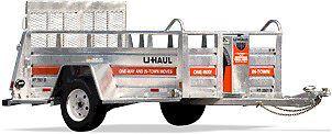 U-Haul Utility Trailer