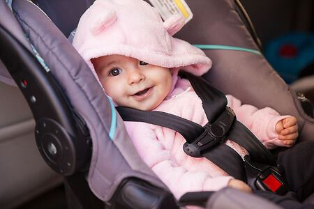 Guidelines for Putting a Car Seat in a Rental Truck