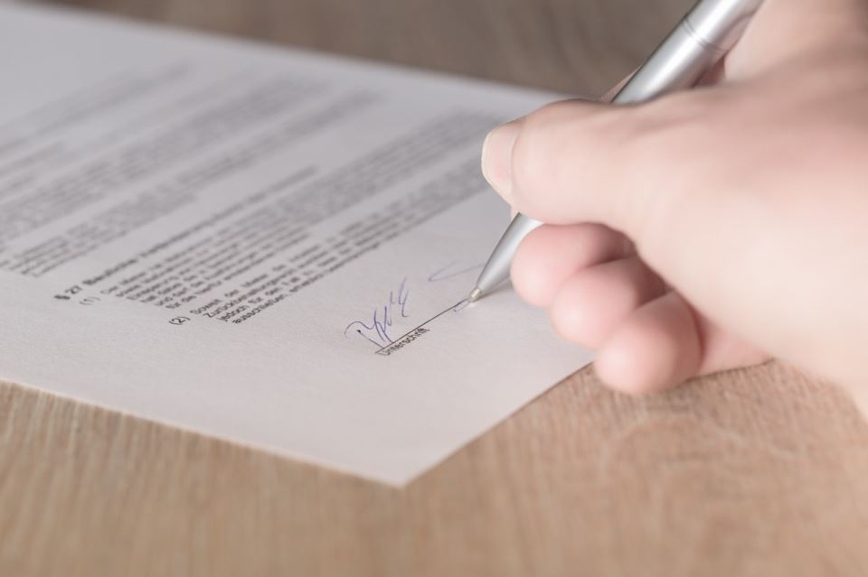 giving landlord notice when moving out