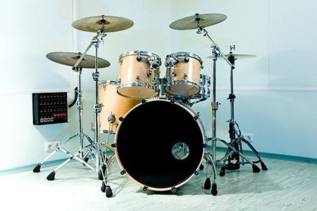 Packing drums for moving