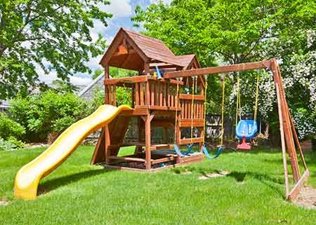 Move an Outdoor Play Set