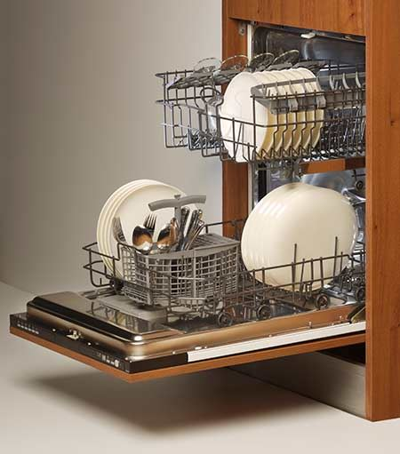 Pack a Dishwasher for Moving