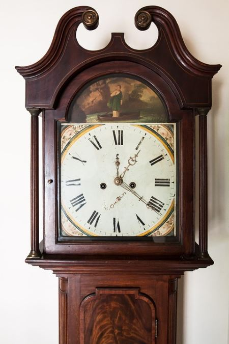 Pack and Move Grandfather Clock