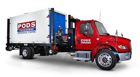 PODS moving and storage container