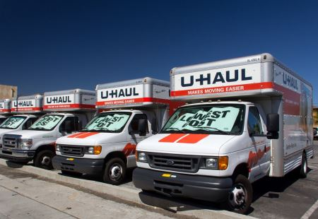 Uhaul Moving Truck
