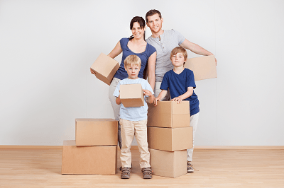 How much does it cost to move a four 4 bedroom house for Average cost to move a 4 bedroom house